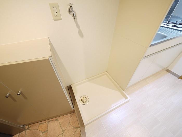 やはり便利な室内洗濯機置場