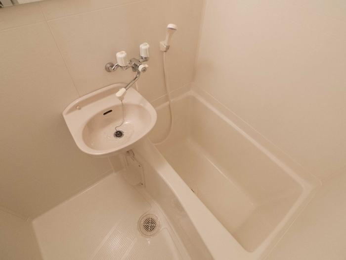 雨の日でも洗濯OK 浴室乾燥機付